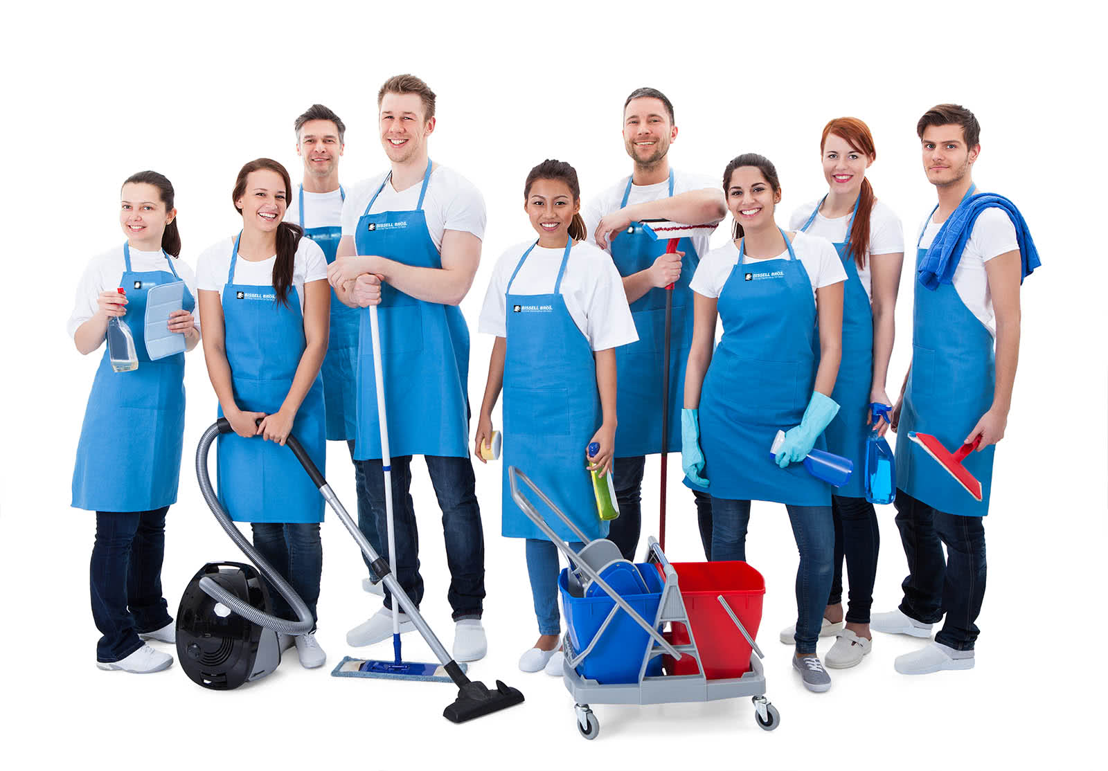 Cleaning Company Crew in Sacramento